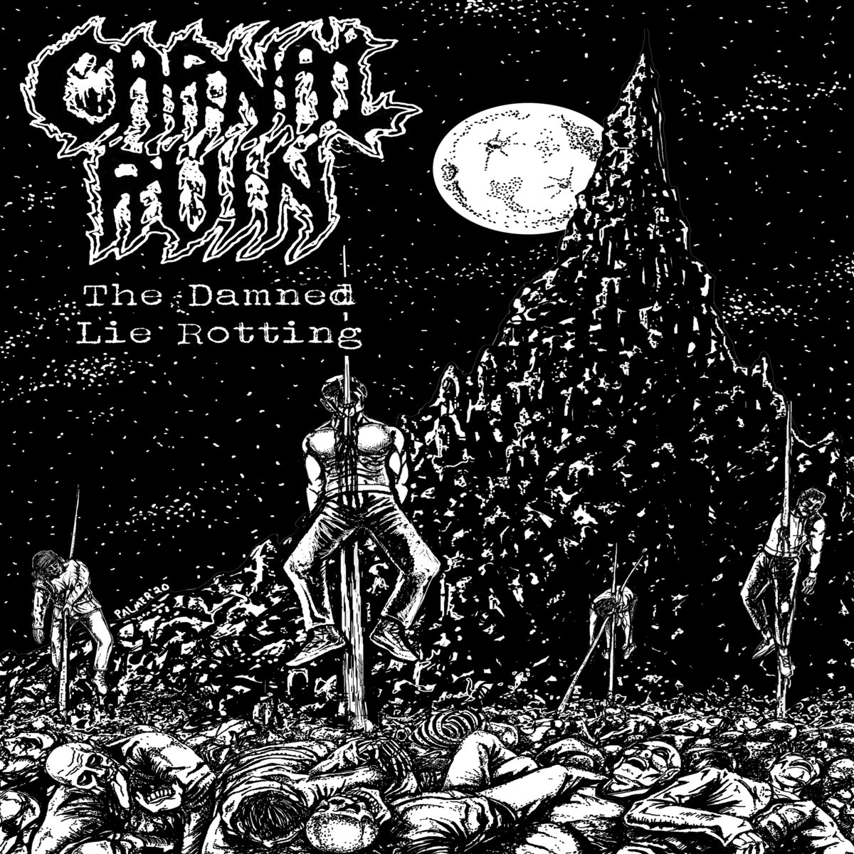 carnal ruin – the damned lie rotting [ep]