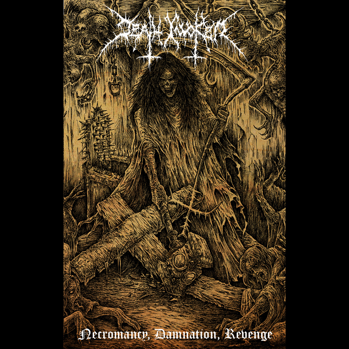 death invoker – necromancy, damnation, revenge [ep]
