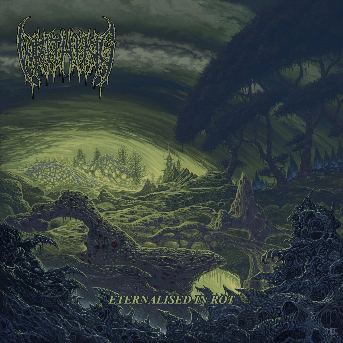 writhing – eternalised in rot [ep]