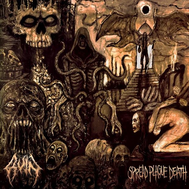 ruin – spread plague death