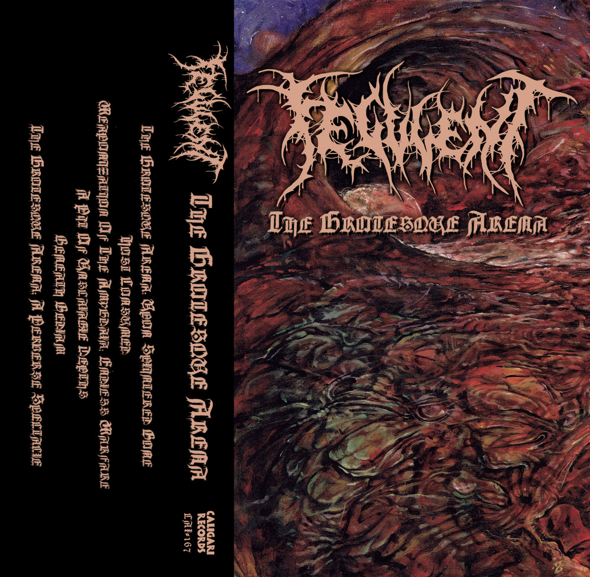 feculent – the grotesque arena [ep]