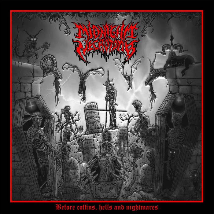 midnight necrotomb – before coffins, hells and nightmares [ep]